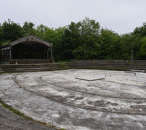Altamirako parke anfiteatroa
