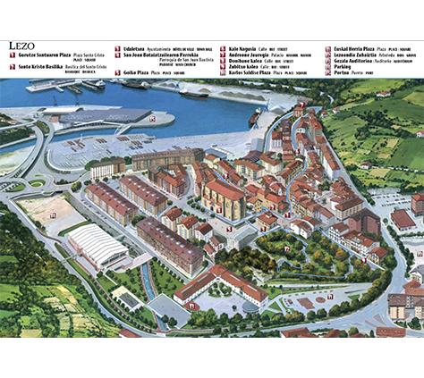 Lezo, un municipio con un casco histórico de importancia